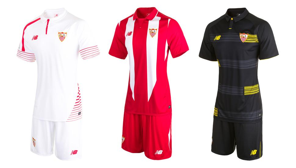 3cdb82ffc Sevilla 15 16 Kits by New Balance - SoccerBible.