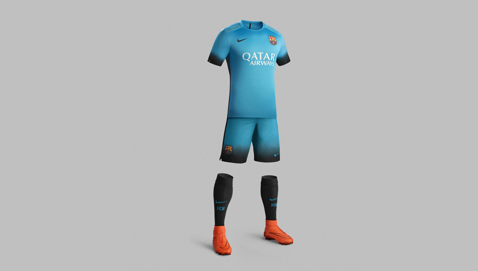 5bcd3e8ff1d FC Barcelona 15/16 3rd kit by Nike - SoccerBible