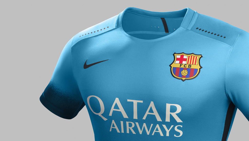 99f16e90c FC Barcelona 15 16 3rd kit by Nike - SoccerBible