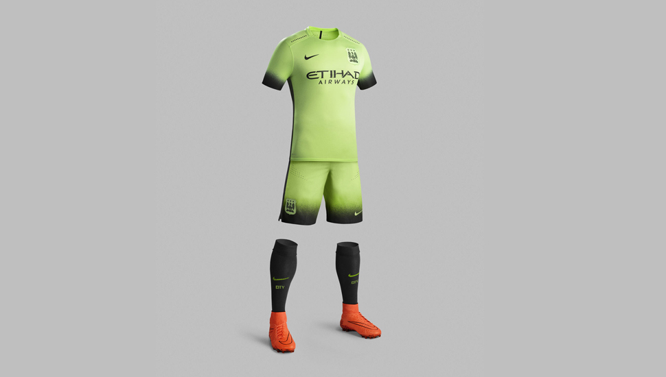 meet 1ab78 ac759 Man City 15/16 3rd Kit by Nike - SoccerBible