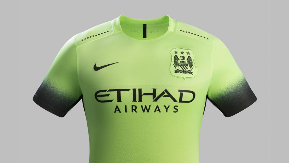 meet f323a b7caa Man City 15/16 3rd Kit by Nike - SoccerBible
