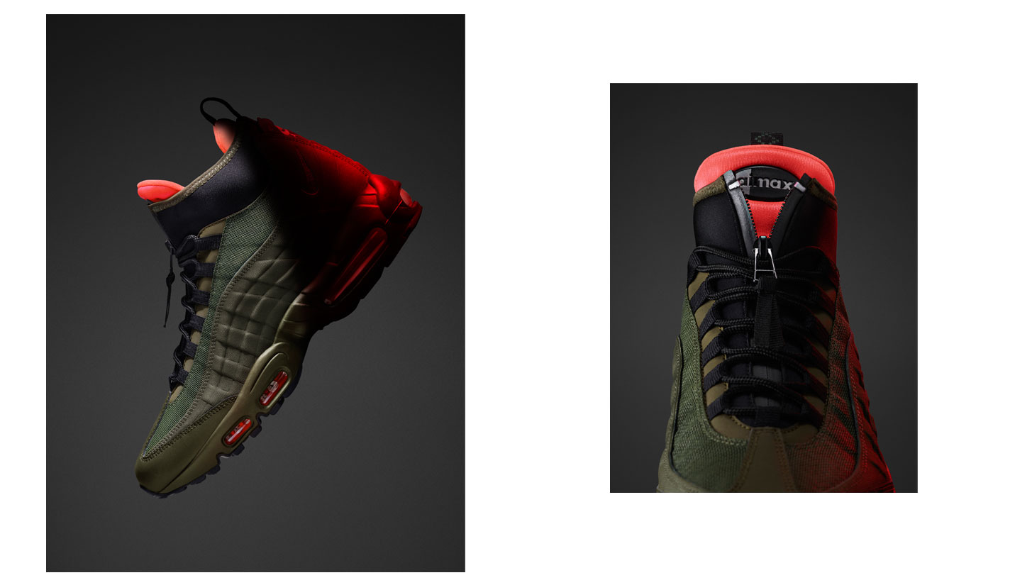 Nike SneakerBoots Holiday '15 Collection