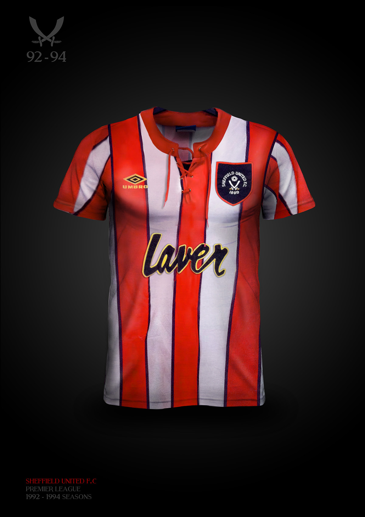 Sheffield United Vintage Shirts by Liam Proniewicz - SoccerBible. dbf6d879e