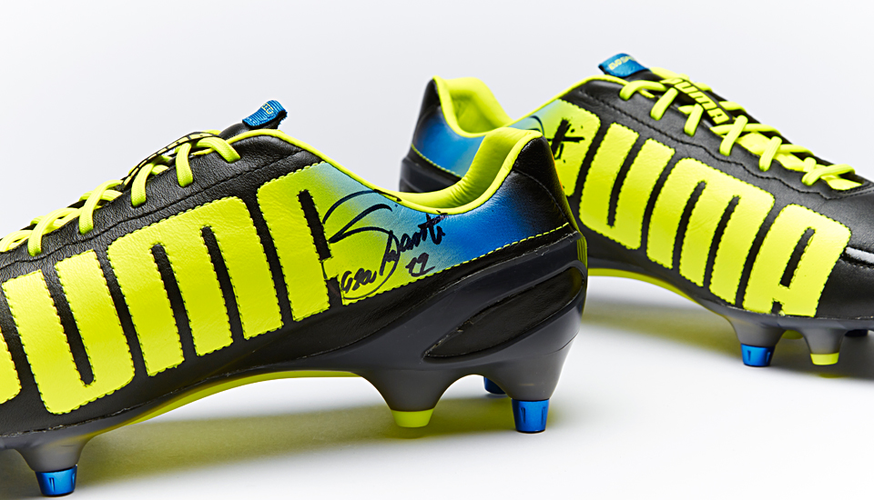 773474a6e Closed  WIN Santi Cazorla s Signed PUMA evoSPEED Boots - SoccerBible
