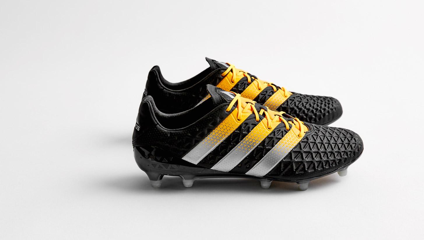adidas ACE 16.1 Primeknit SG Solar YellowCore BlackSilver Metallic