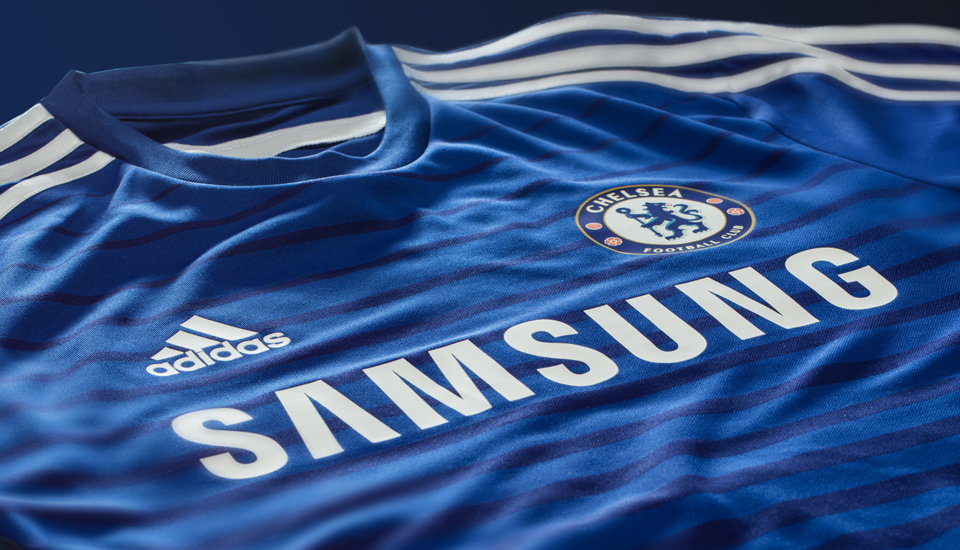 soccer jersey shirt adidas unveil chelsea 201415 home kit how to create chelsea fc