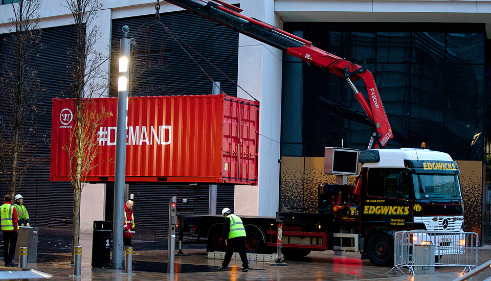 8f4b7398e Mysterious Warrior Delivery in Liverpool City Centre - SoccerBible
