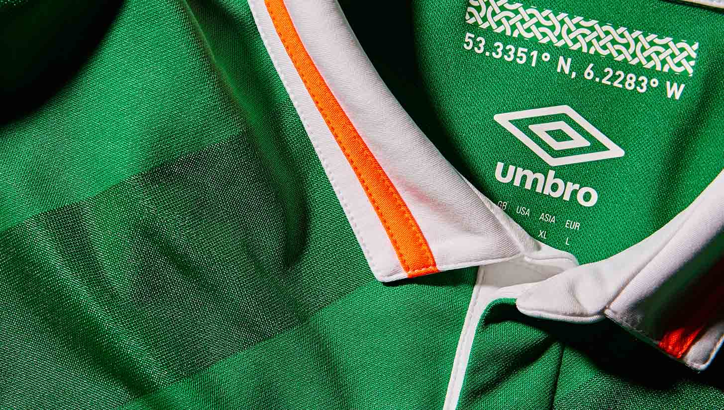 0938a4ce65d Republic of Ireland 2016 Home Kit - SoccerBible