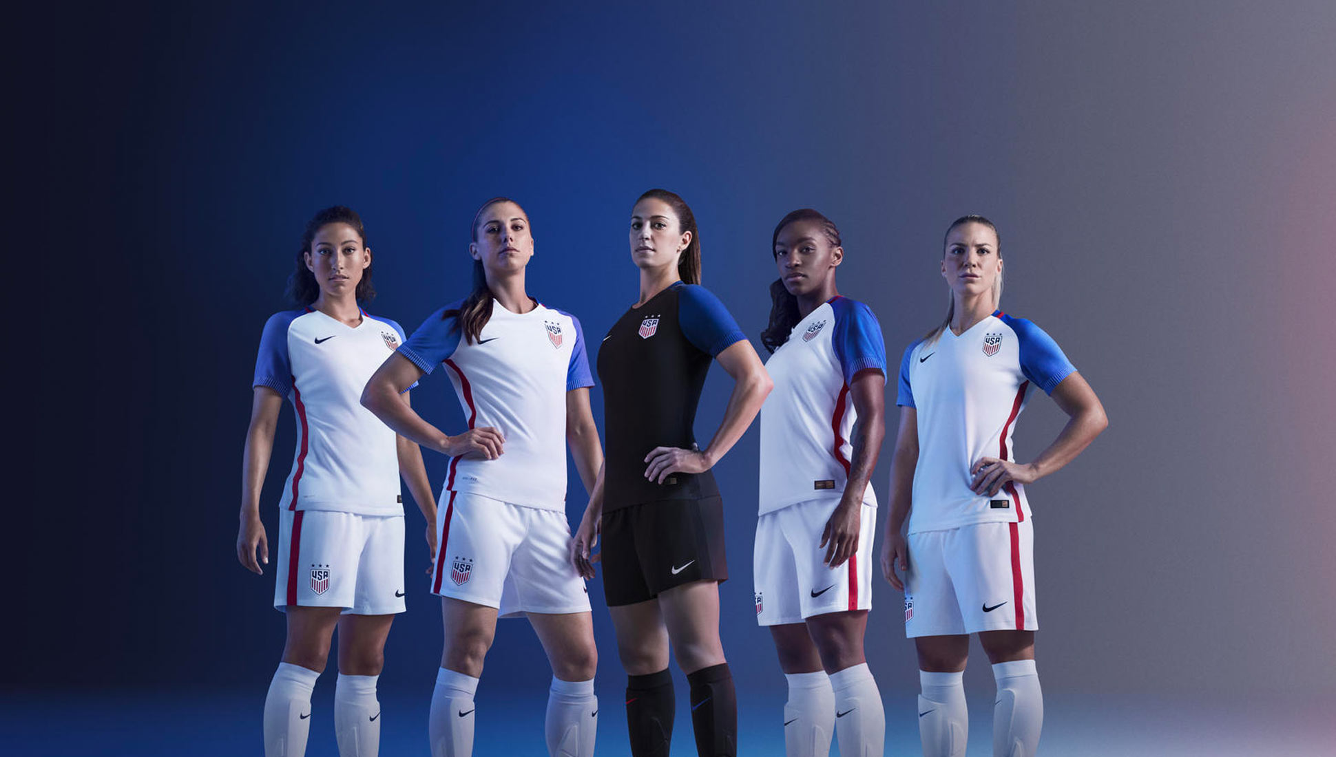 Excepcional sucesor la seguridad  Nike 2016 USA National Soccer Kits - SoccerBible