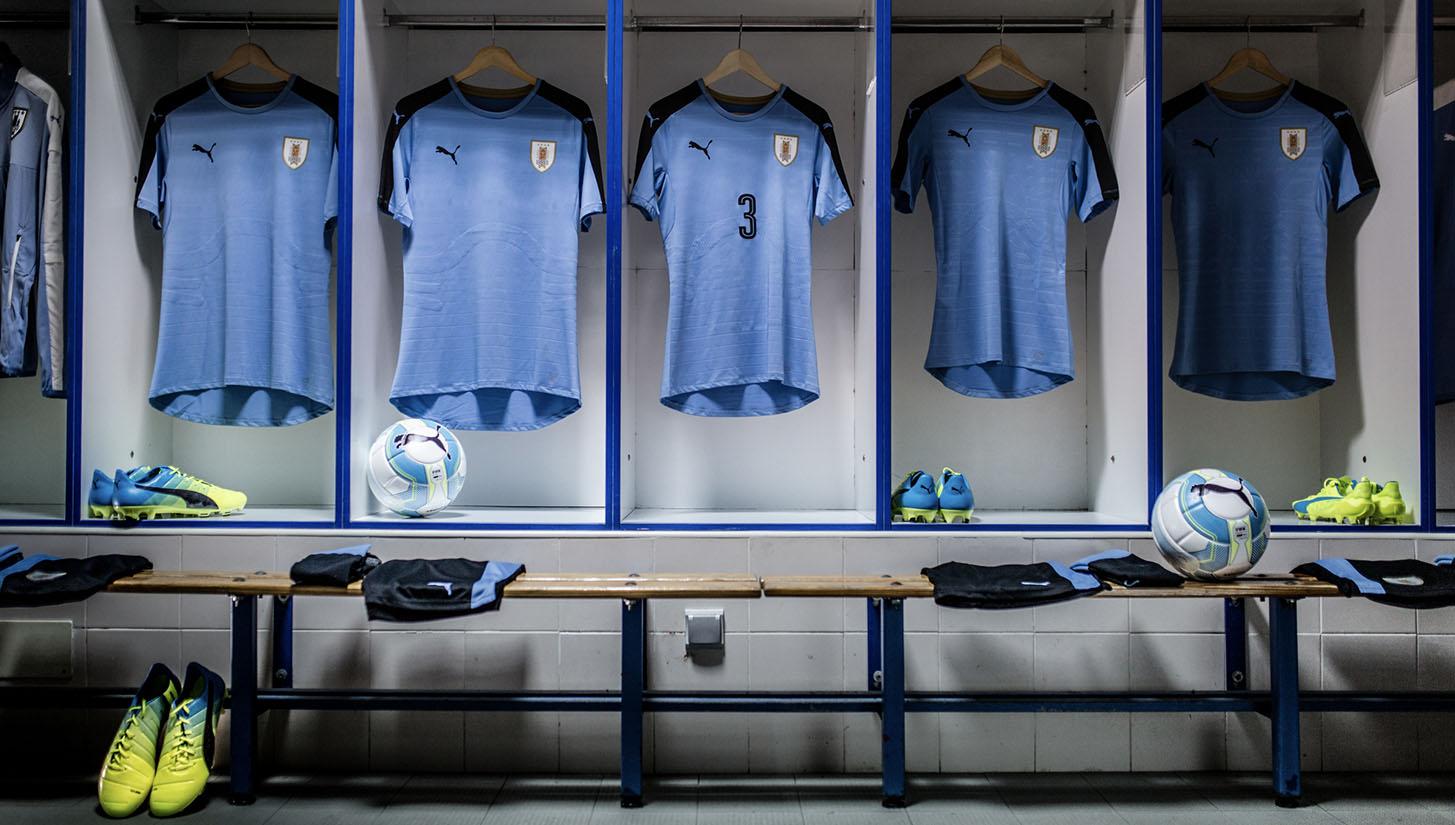 b61facd6086 Uruguay 2016 Home & Away kits by PUMA - SoccerBible