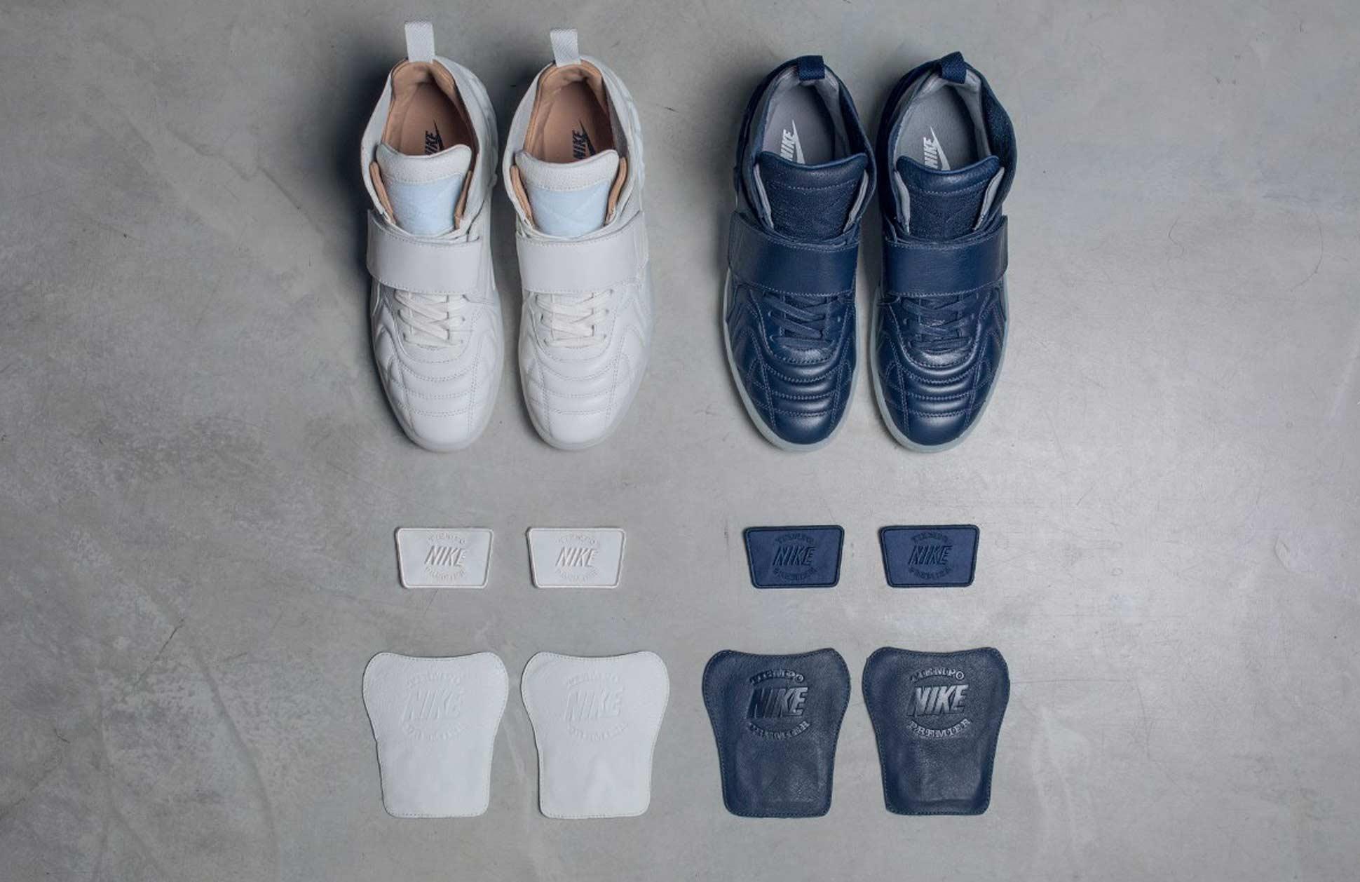 reputable site fa825 f781e NikeLab Tiempo Vetta White   Blue Colourways - SoccerBible.