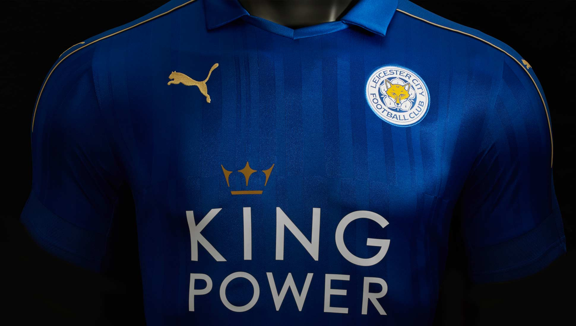 091abe709f6 Leicester City 2016 17 Home Kit by PUMA - SoccerBible
