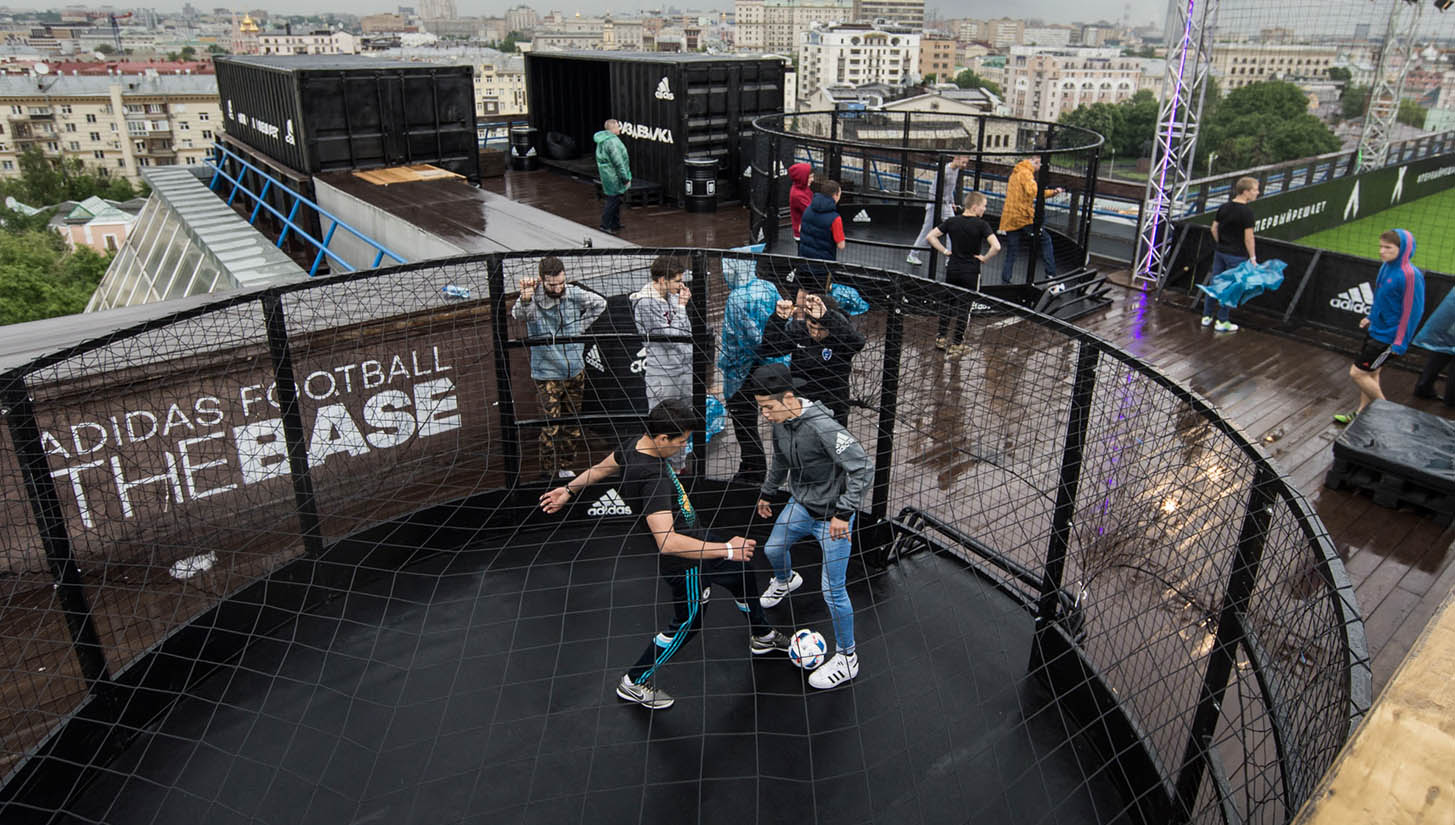 consenso brazo riñones  adidas Launch 'The Base' Moscow - SoccerBible
