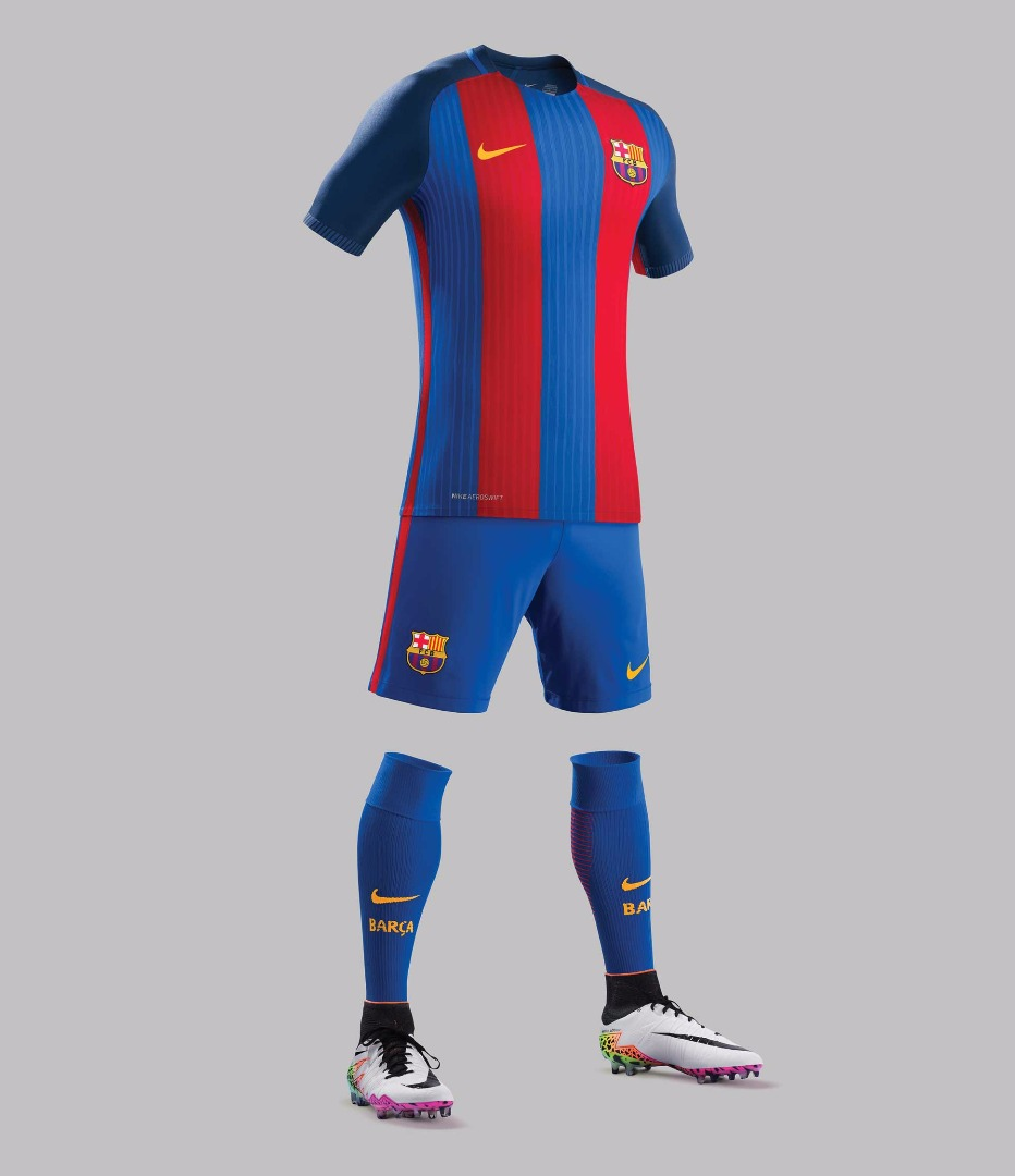 5440f85b067 FC Barcelona 16 17 Home Kit by Nike - SoccerBible.