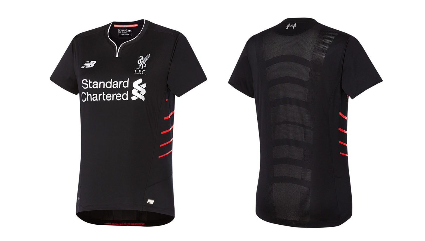 Liverpool 16 17 away by New Balance - SoccerBible. 0c6ea0e4f