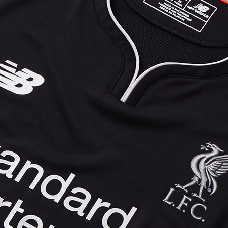 27fbf716f42 New Balance Drop Liverpool Limited Edition 18 19 Blackout Shirt ...