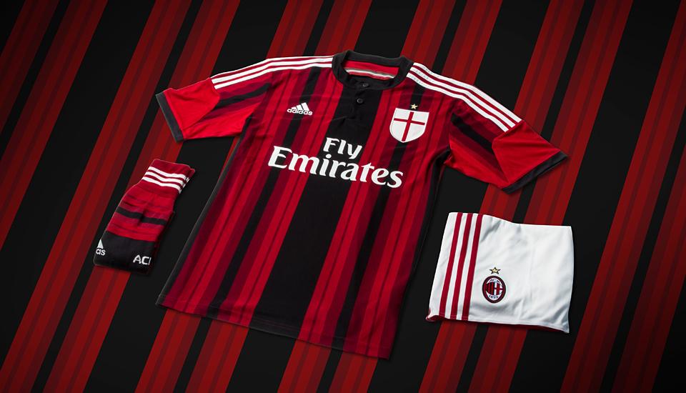Erradicar Sostener Unirse  adidas Reveal 2014/15 A.C. Milan Kits - SoccerBible