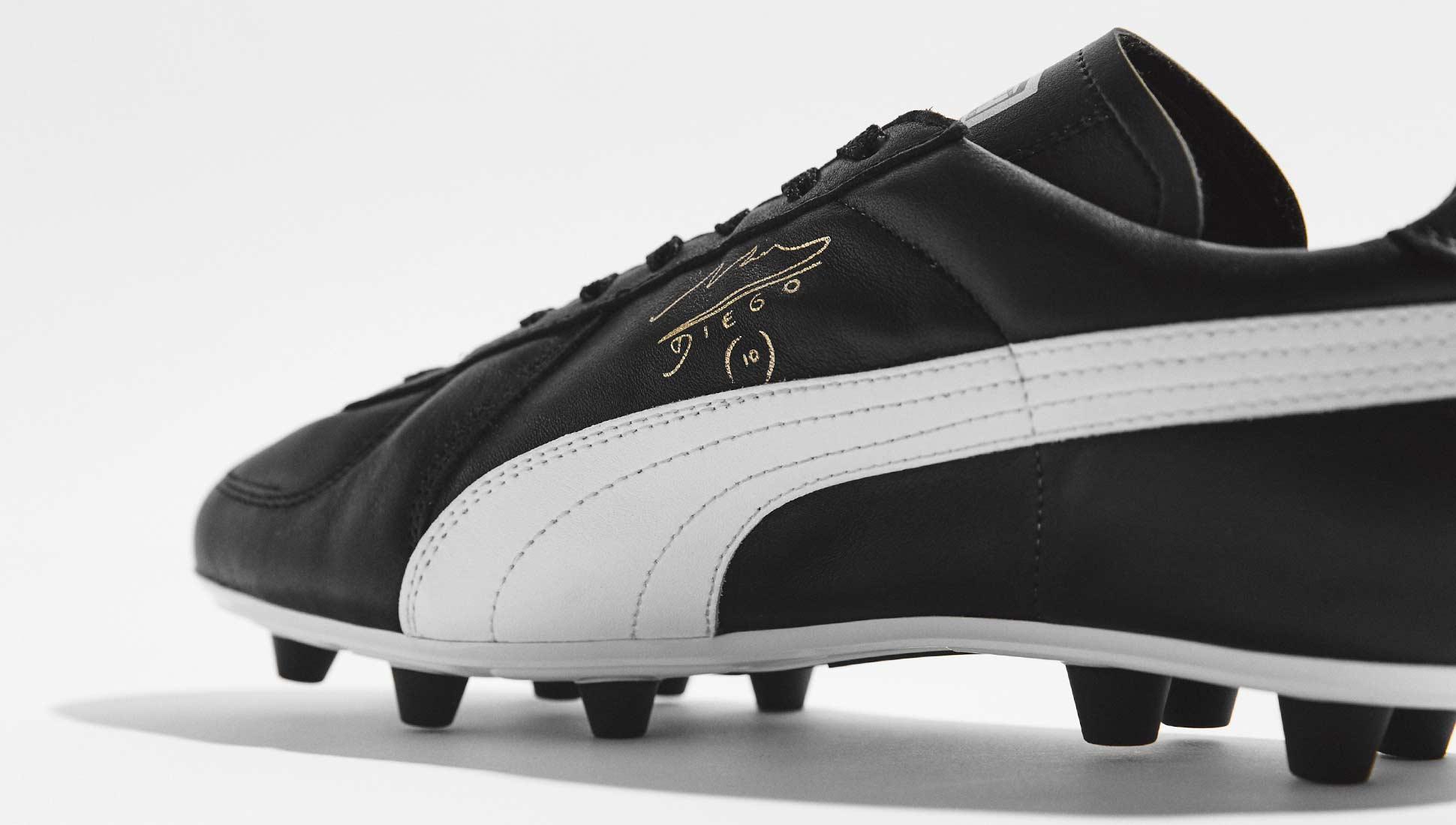 comprar bien alta moda retro PUMA King Maradona Super - SoccerBible