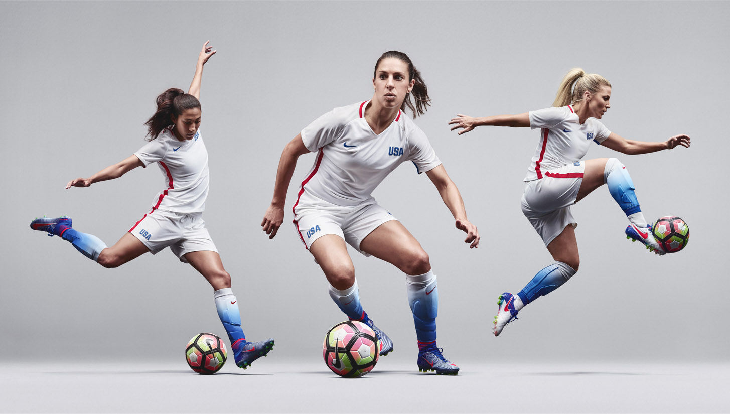 Nike USWNT Striking Platinum   Sparking Brilliance - SoccerBible. 039df27f6