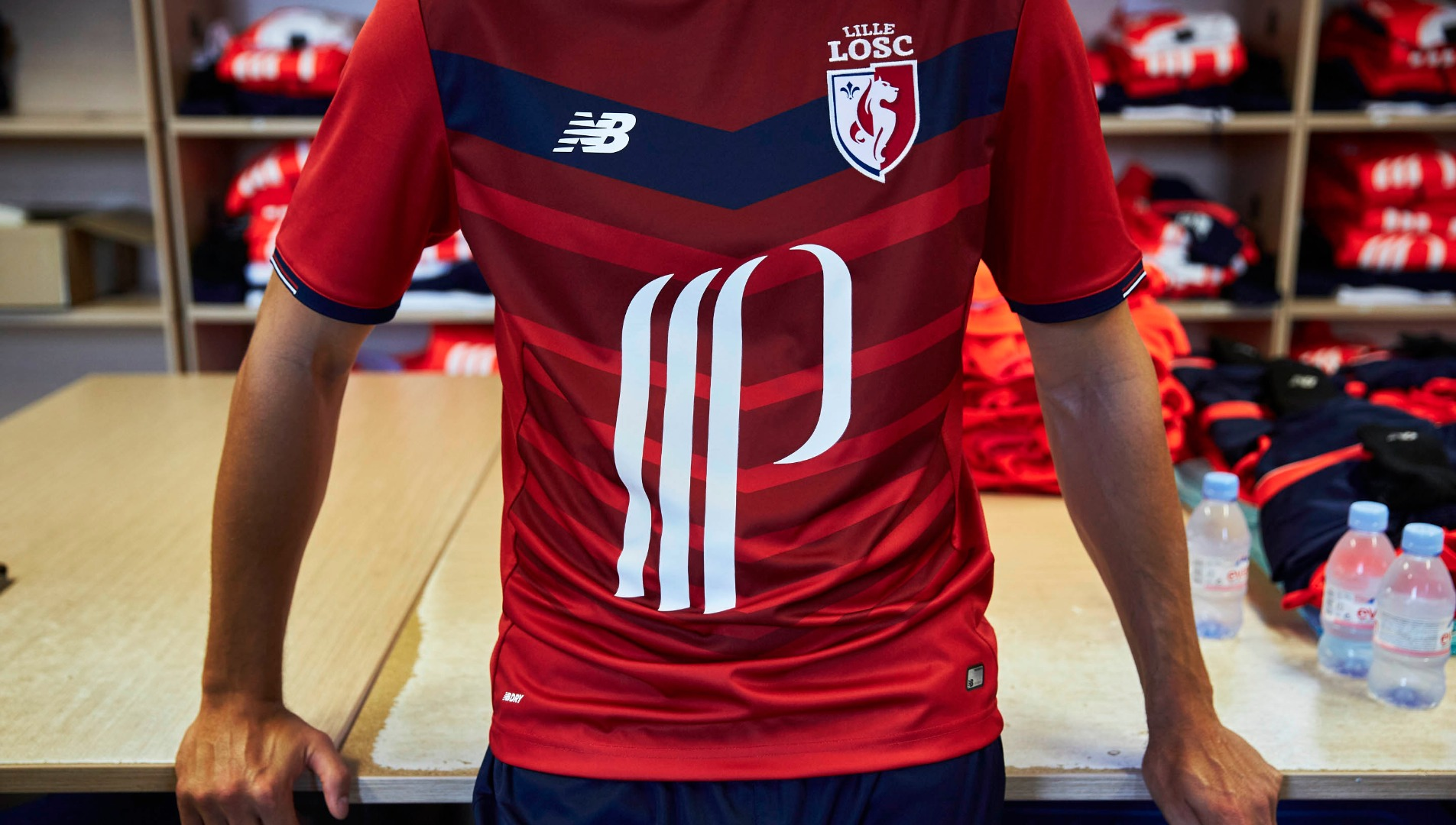 purchase cheap 55299 2fd86 LOSC Lille 2016/17 home kits by New Balance - SoccerBible
