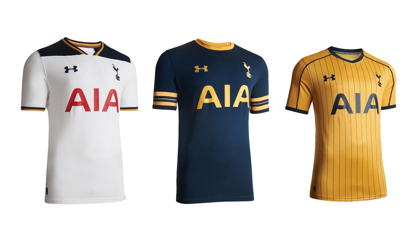 Gobernable Nublado diario  Tottenham 2016/17 Kits by Under Armour - SoccerBible