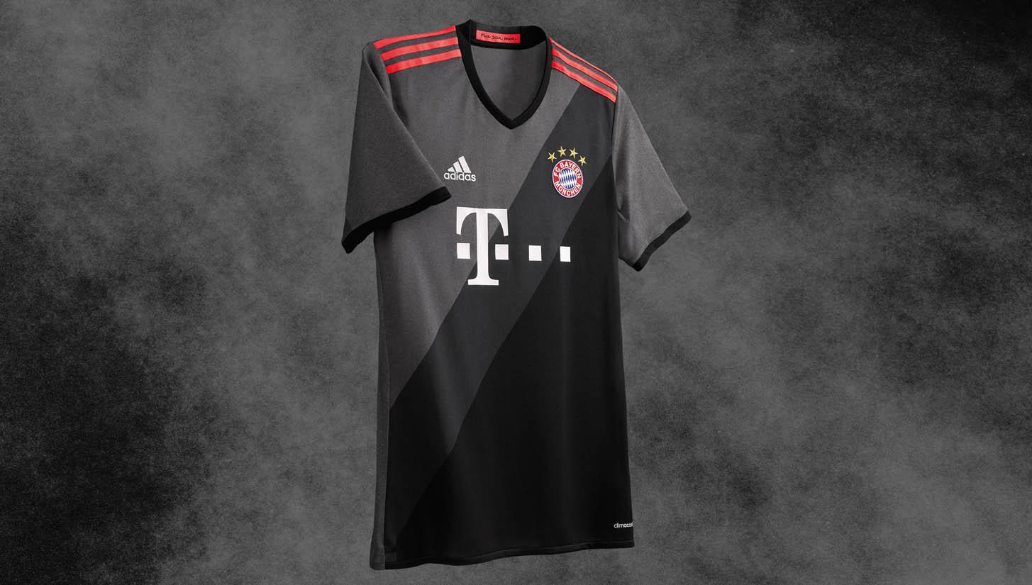 2c80bef4ce3 Bayern Munich 2016/17 Away by adidas - SoccerBible.