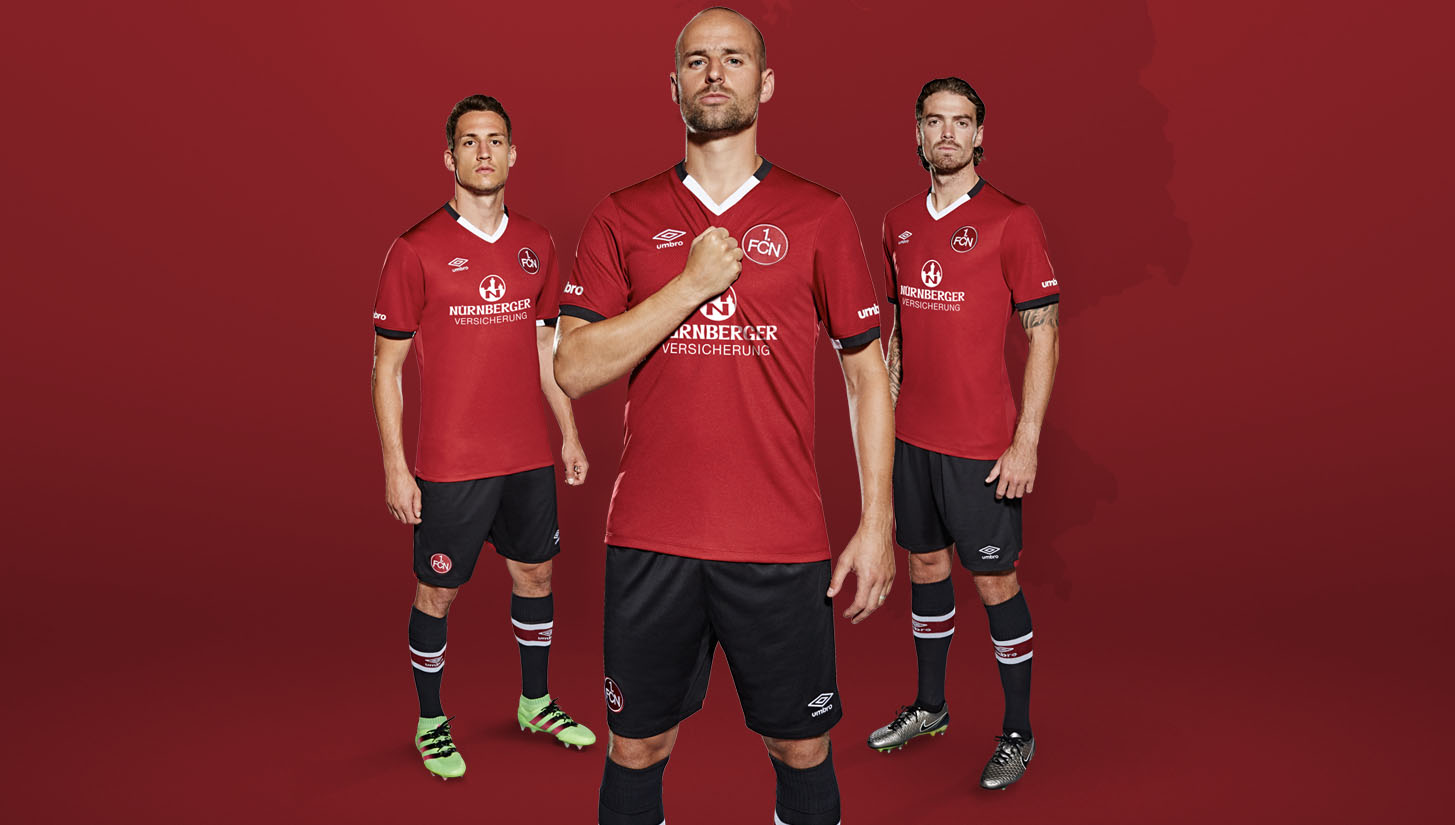 official photos 7cf35 853c5 1. FC Nürnberg 16/17 Home Kit by Umbro - SoccerBible