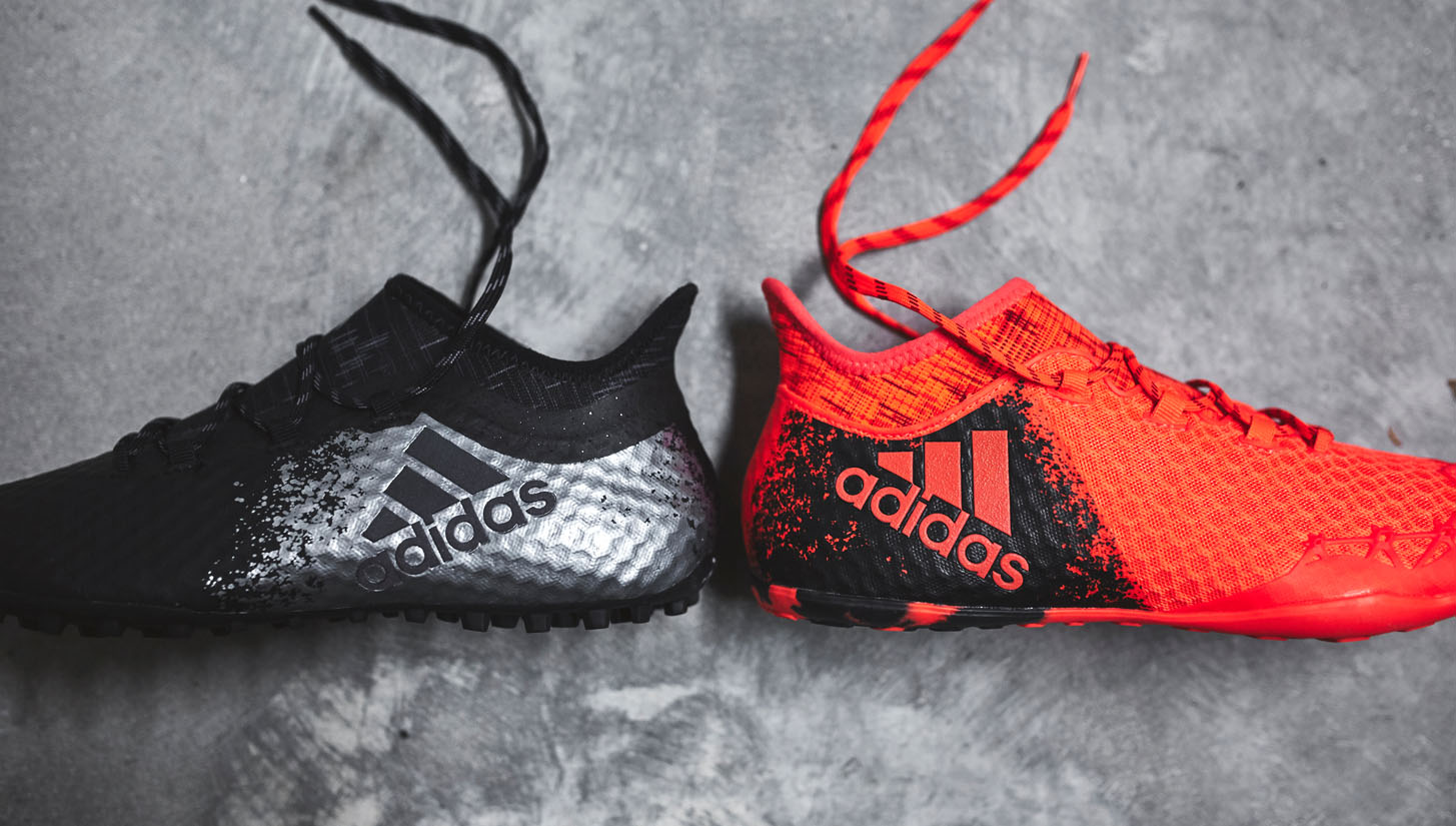 Raza humana a tiempo extremidades  adidas X 16.1 Cage & Court Collection - SoccerBible
