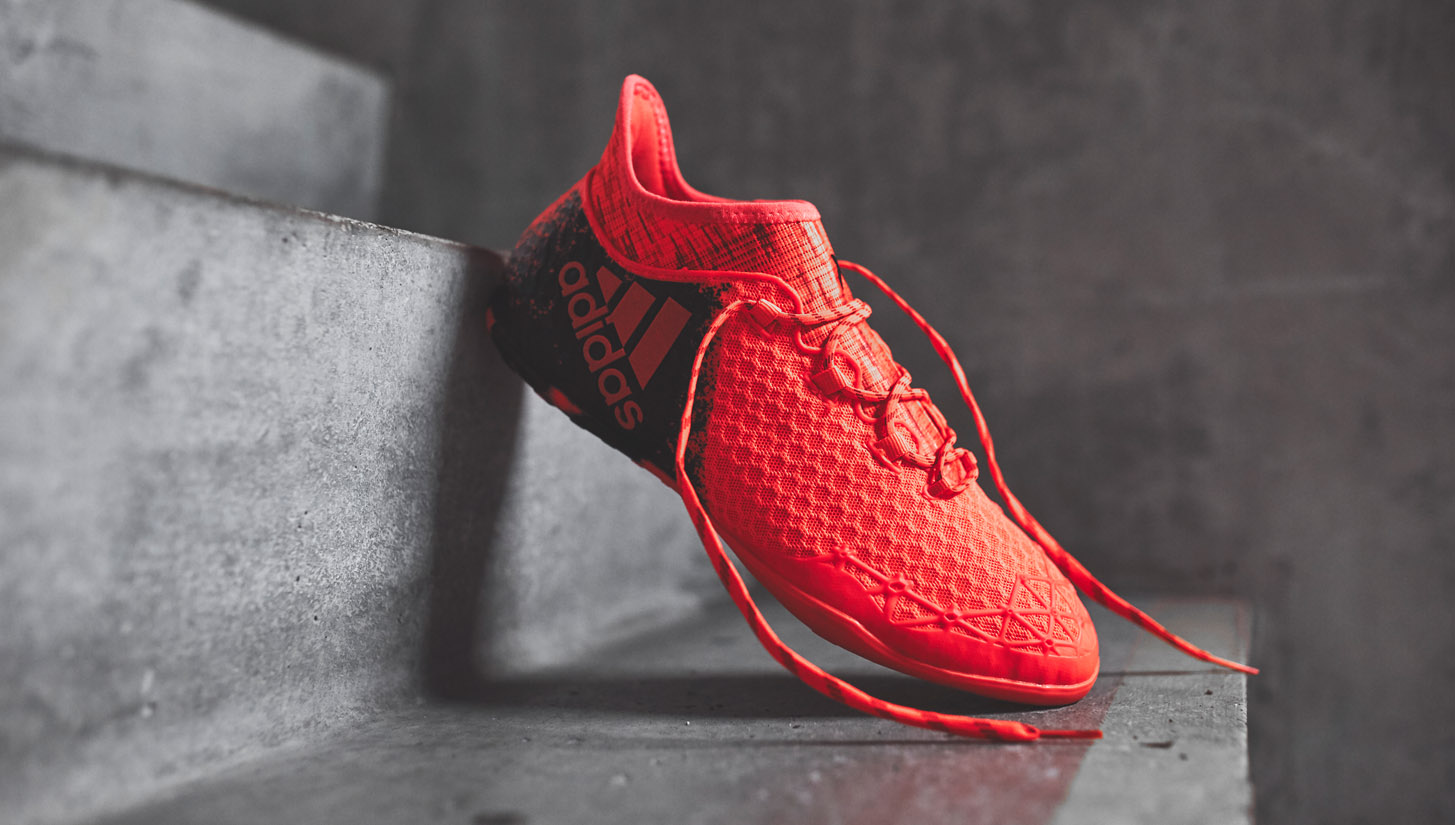 the latest 812cb 64d3d adidas X 16.1 Cage & Court Collection - SoccerBible