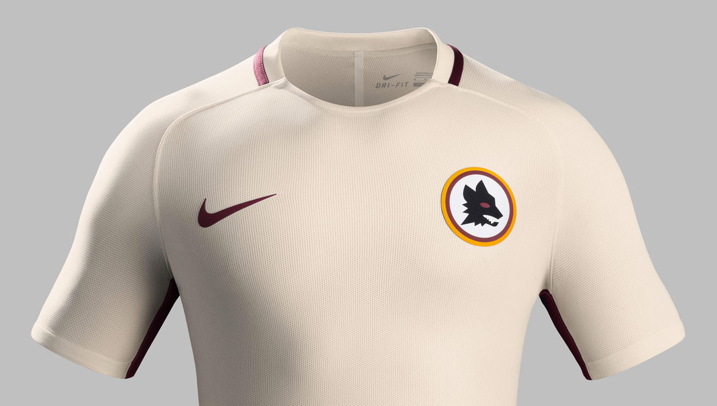 6e1749b9a6d Roma 2016 17 Away kit by Nike - SoccerBible