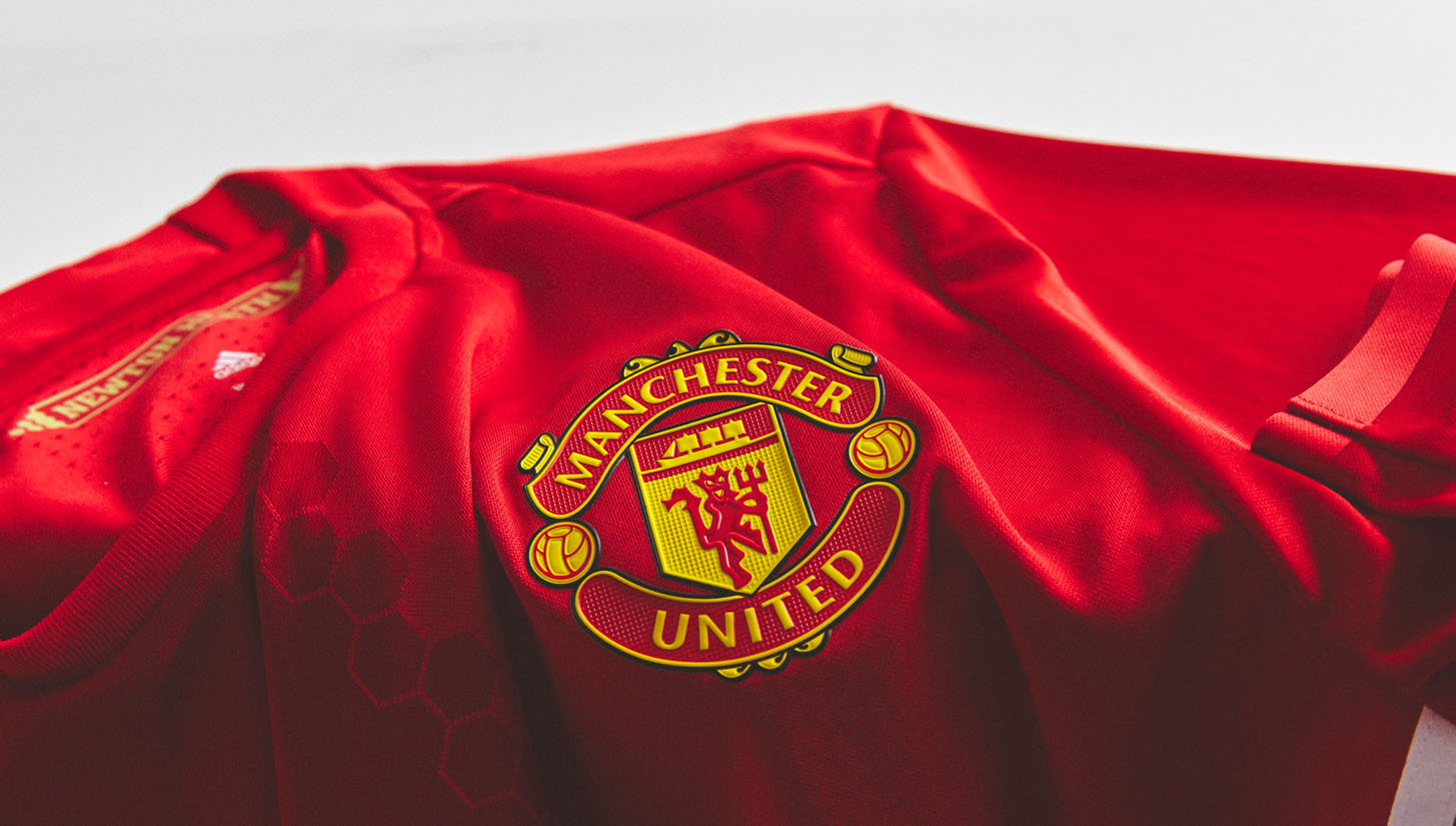 sports shoes f605d 0fdb9 Man United 2016/17 Home Kit by adidas - SoccerBible