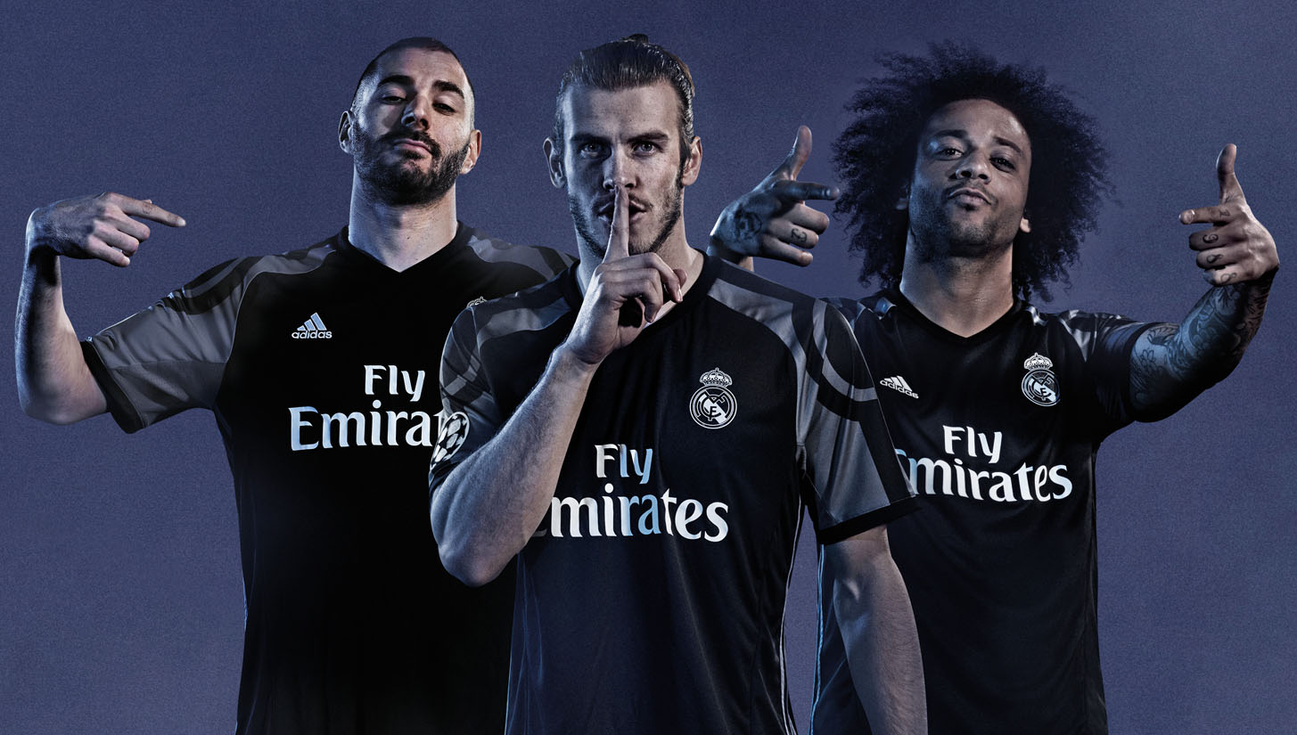 4aeb3966044 adidas Launch Real Madrid 2016 17 Third Kit - SoccerBible.