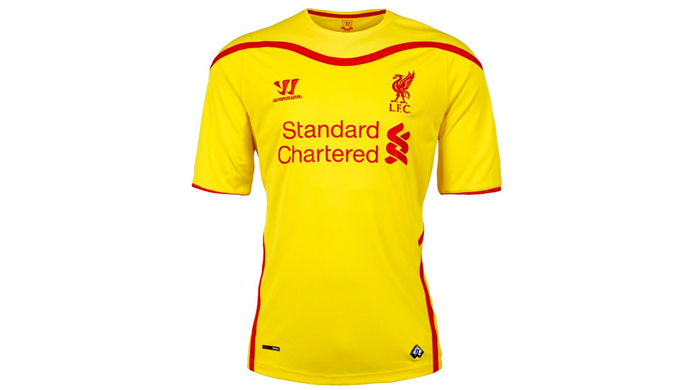 best sneakers c4c81 98fac Warrior Reveal Liverpool 2014/15 Away Kit - SoccerBible