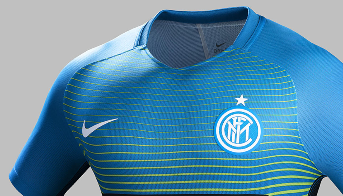 check out 2ddfd fdc5a Inter Milan 16/17 3rd Kit by Nike - SoccerBible