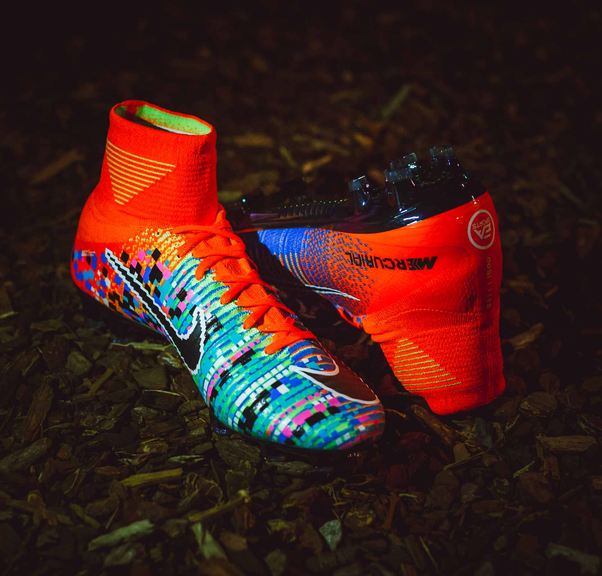a closer look at the nike mercurial x ea sports superfly. Black Bedroom Furniture Sets. Home Design Ideas