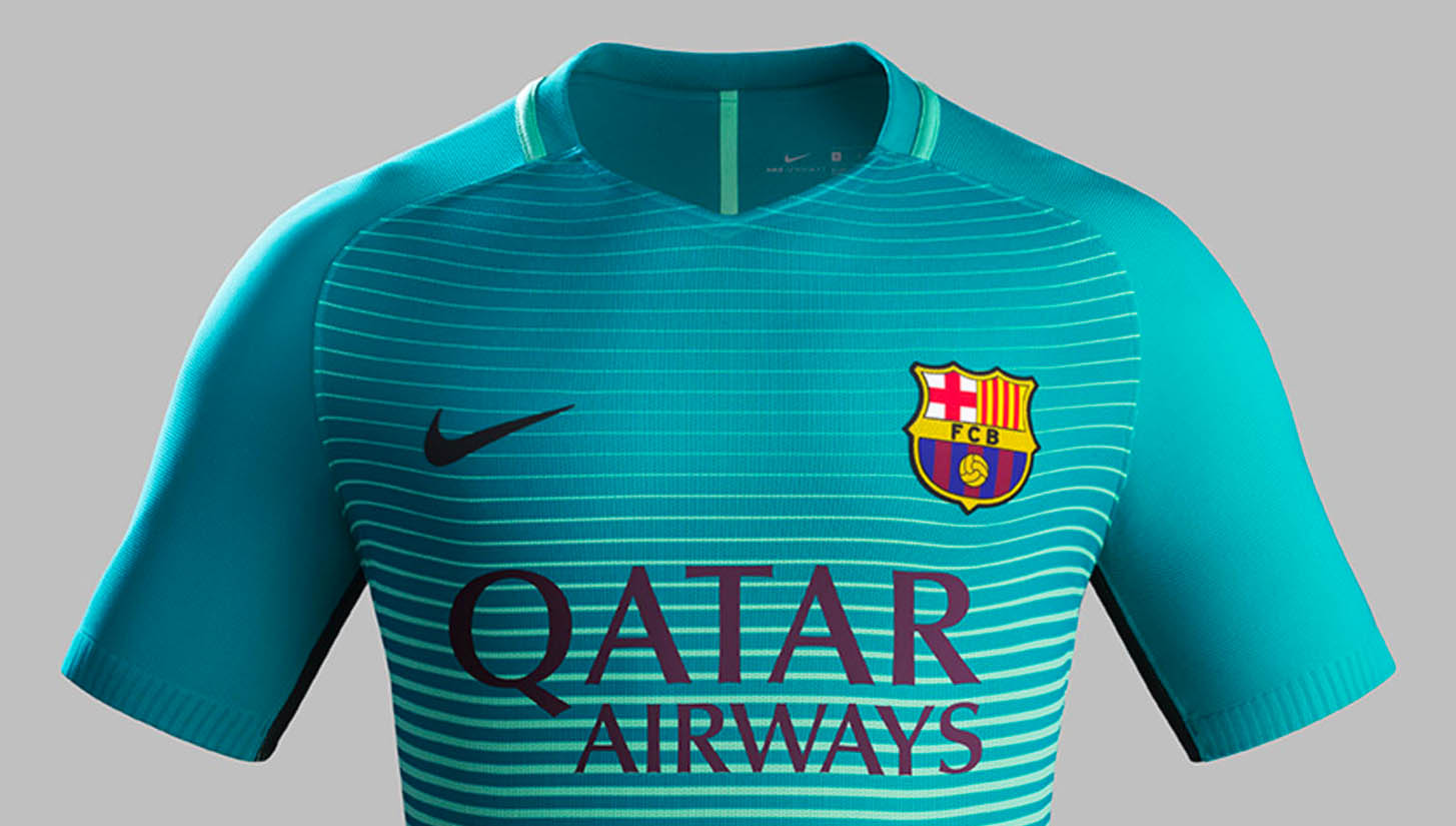 premium selection c2f64 f3f84 F.C. Barcelona 16/17 Third Kit by Nike - SoccerBible