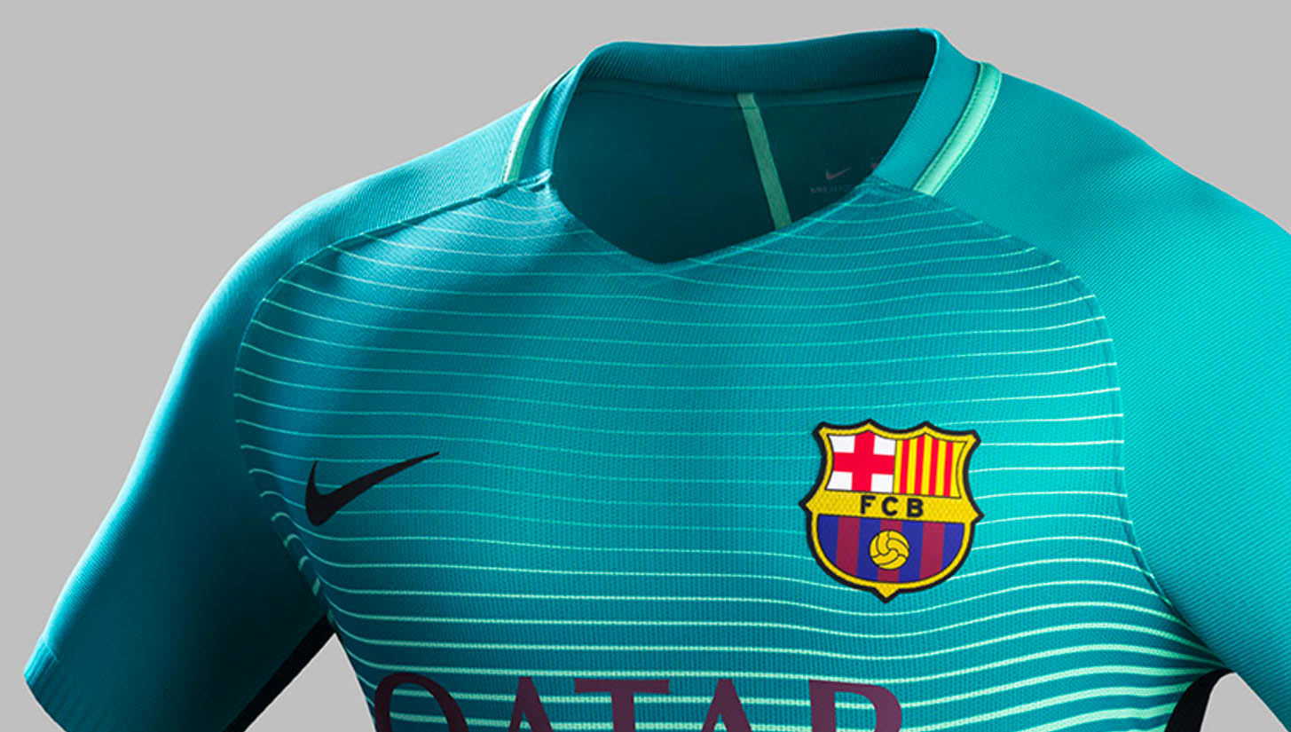 premium selection be03a 7895c F.C. Barcelona 16/17 Third Kit by Nike - SoccerBible