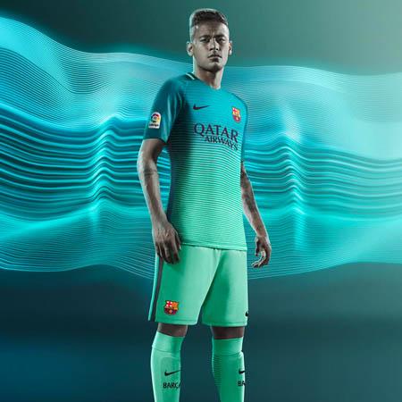 huge selection of 0ef44 56fcb fc barcelona 3rd kit 2017