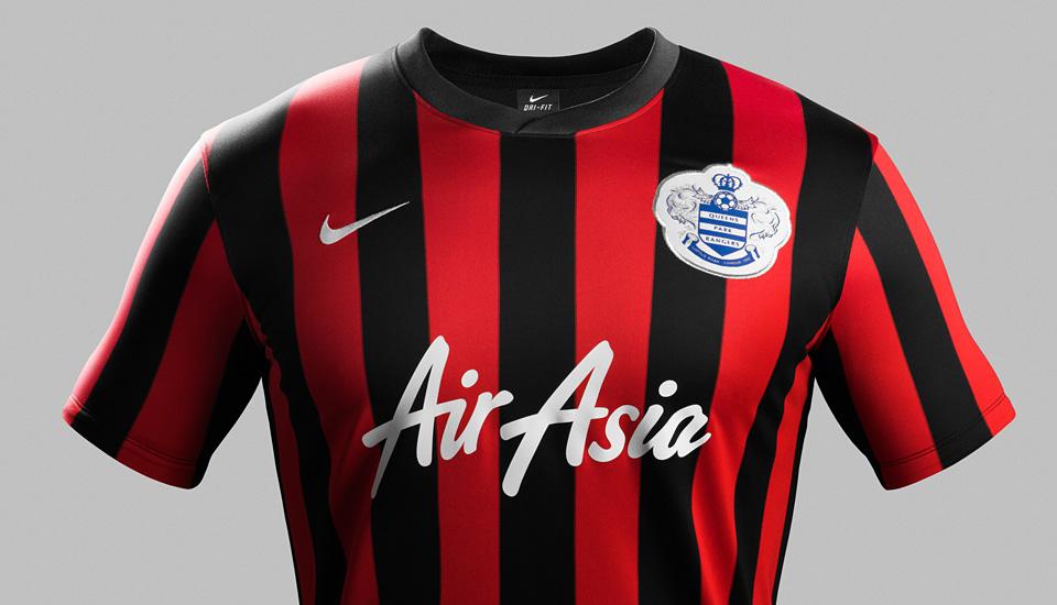 Nike   QPR Unveil New 2014-15 Kits - SoccerBible a2c12dde3