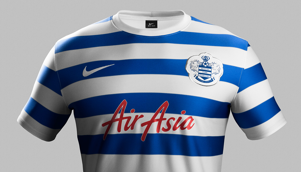 new products 45047 7053e Nike & QPR Unveil New 2014-15 Kits - SoccerBible