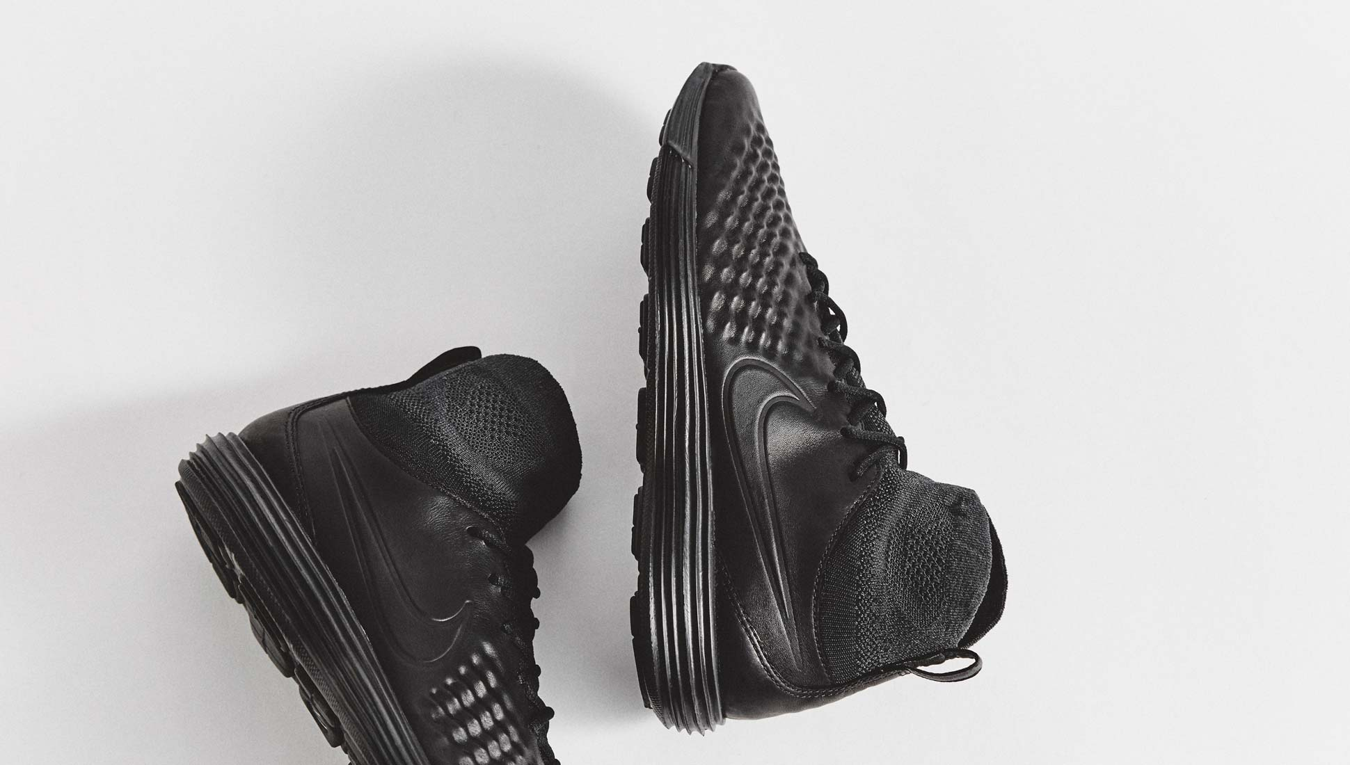 online store 851a0 1b1a0 Nike Lunar Magista II Flyknit Black Sneakers - SoccerBible