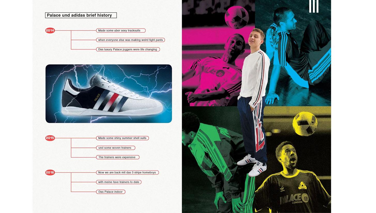 adidas Originals x Palace Skateboards Autumn '16 Lookbook