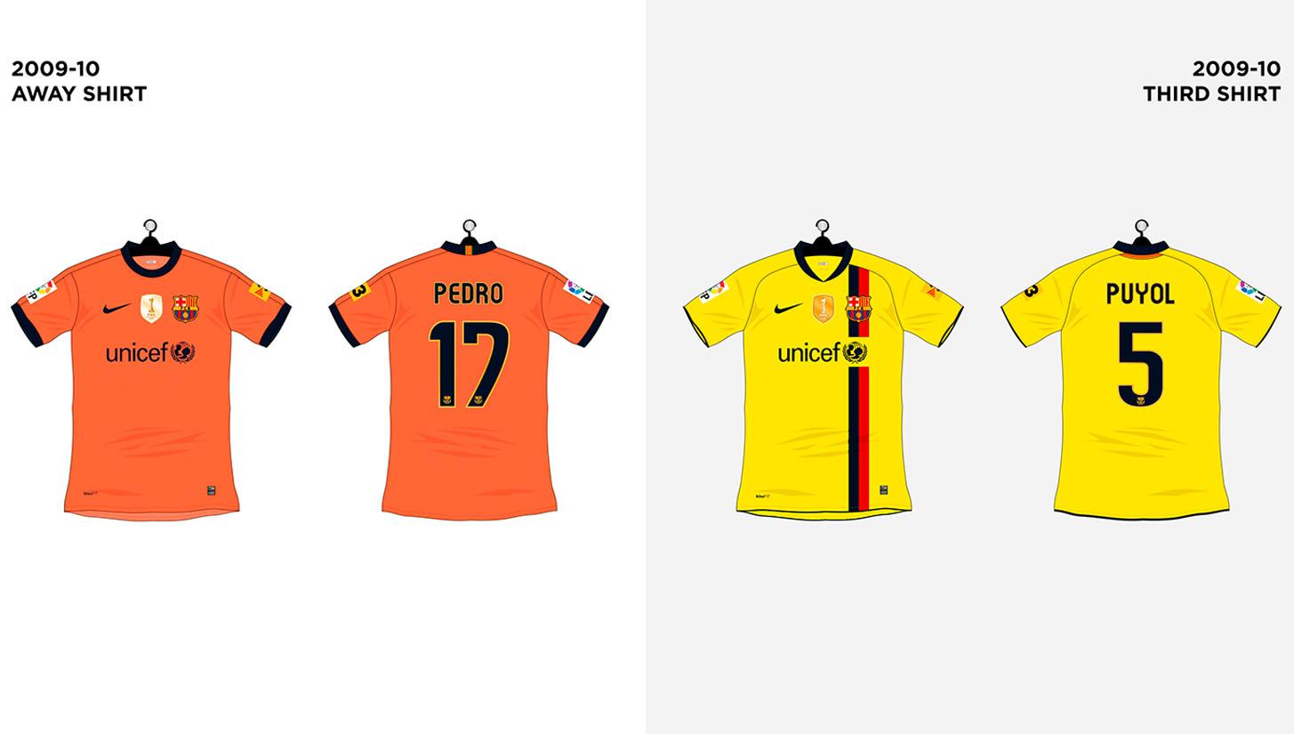 on sale 1a48e 46e0a Every FC Barcelona Shirt made by Nike - SoccerBible