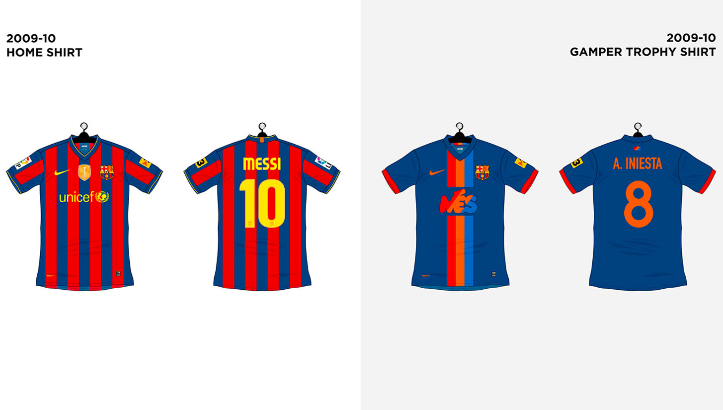 on sale e0d18 cc815 Every FC Barcelona Shirt made by Nike - SoccerBible