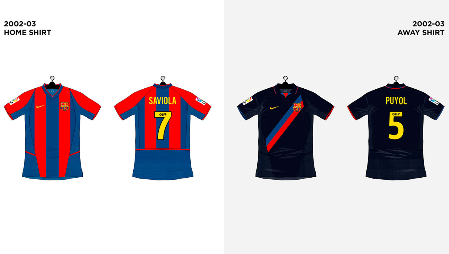 70ddb37db76 Every FC Barcelona Shirt made by Nike - SoccerBible