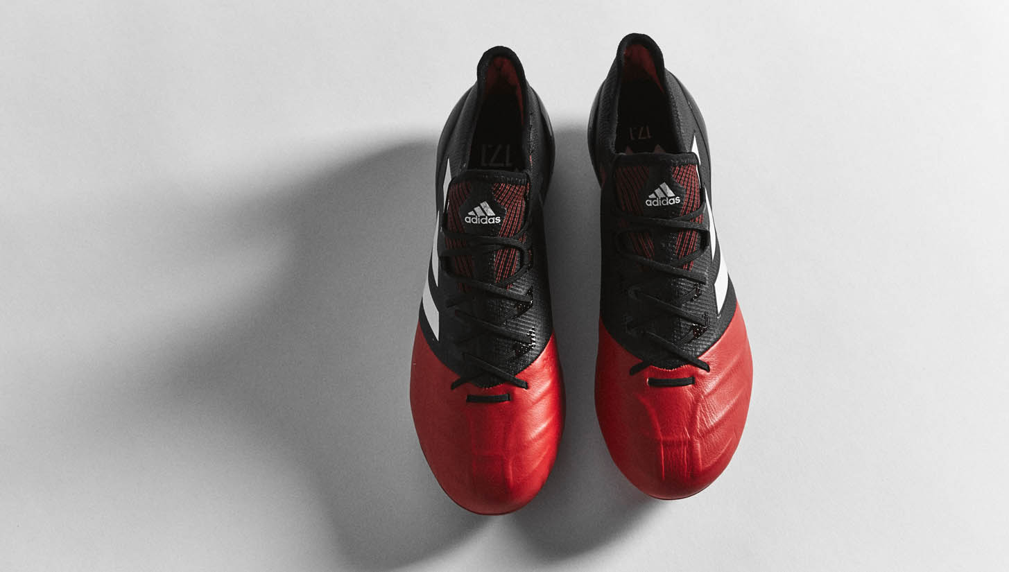 "adidas ACE 17.1 Leather ""Black/Red/White"""