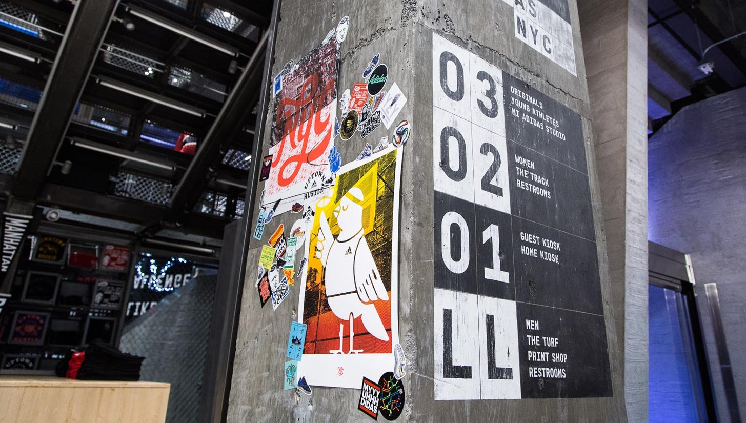 adidas Open Stadium Flagship Store in NYC SoccerBible
