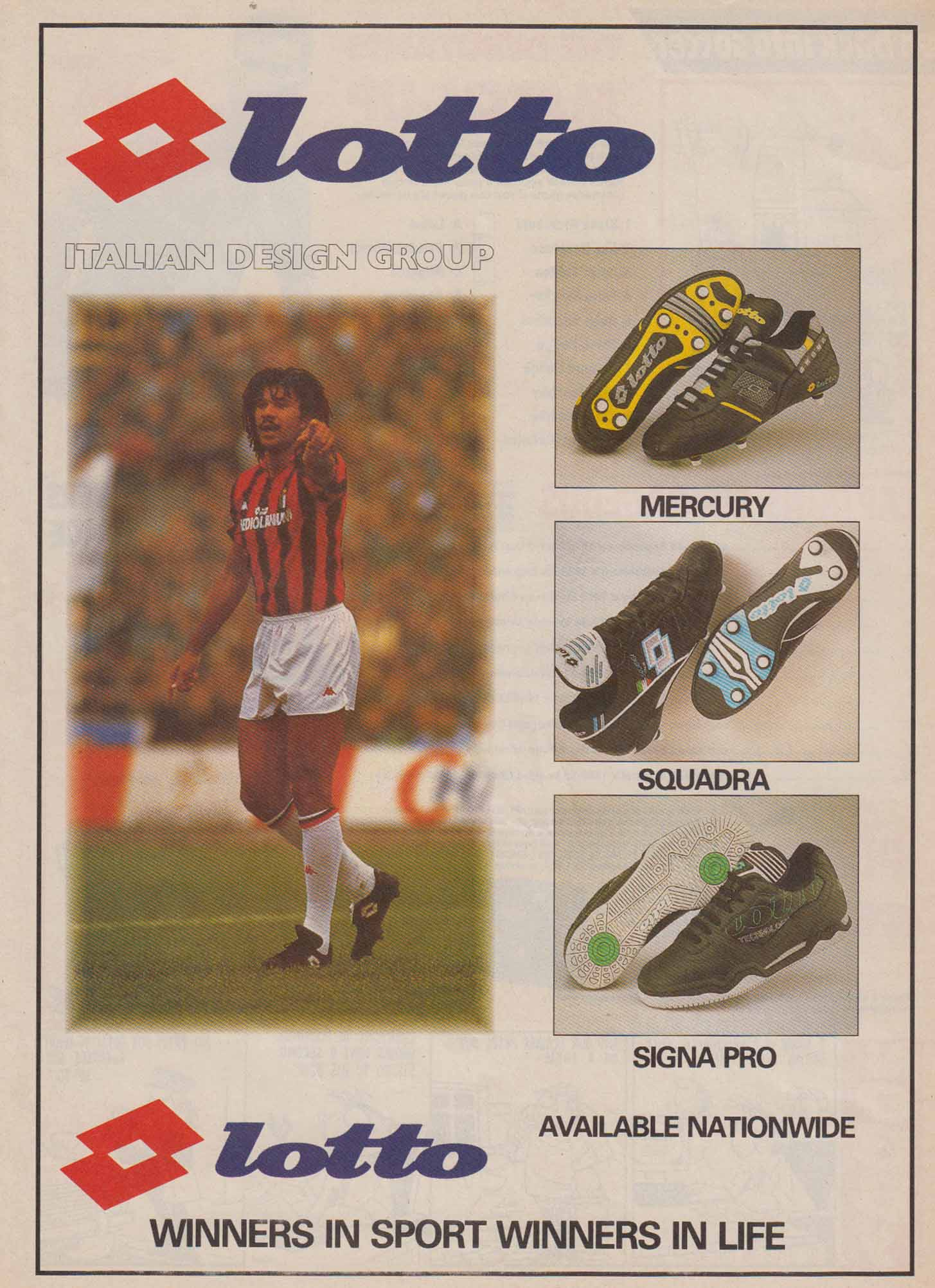 Retro Football Boot Adverts Soccerbible