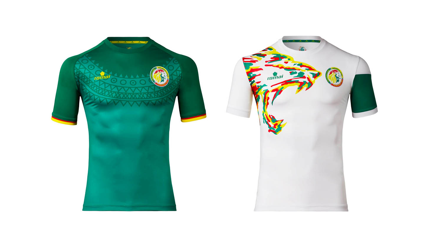 watch 57189 347a2 Romai launch 2017 Senegal Kits - SoccerBible