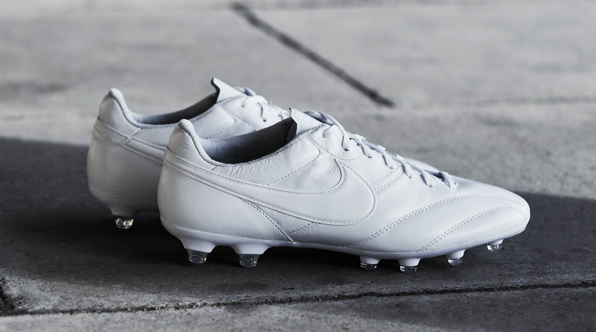 063f28891cf Nike Tiempo Premier Triple White Football Boots - SoccerBible